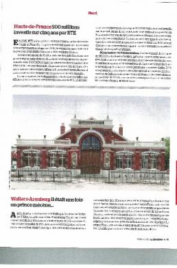 PARUTION PRESSE SALLE DES FÊTES DE WALLERS-ARENBERG